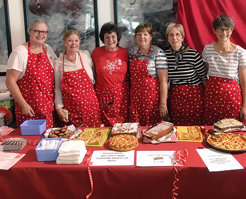 Swiss National Day Baked Goods