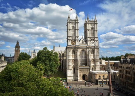 Westminster Abbey - West Towers