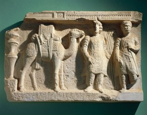 Palmyra-camel-relief